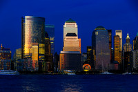 World Financial Center, Manhattan, New York, Usa