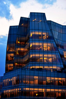 IAC Building at Dusk, New York - Architect: Frank Gehry