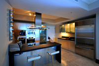 Apartment's Kitchen in Trump Royale - Sunny Isles Beach, Florida