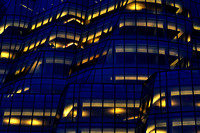 IAC Building at Night, New York - Architect: Frank Gehry