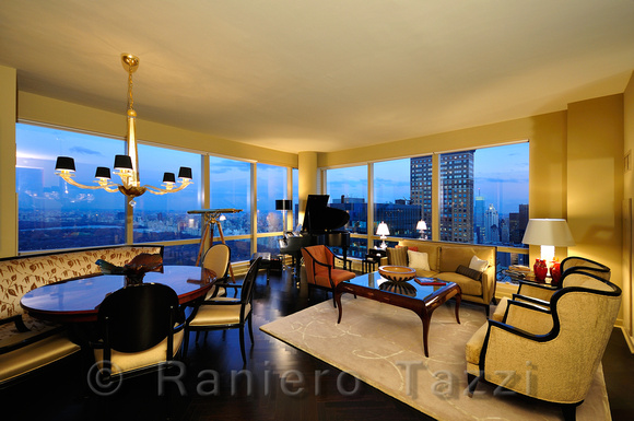 Raniero Tazzi Photography Real Estate 68th Floor Apartment In Random House Tower And Park
